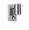 Redbridge Stainless Steel Single Outdoor Wall Light with PIR - ID 8337