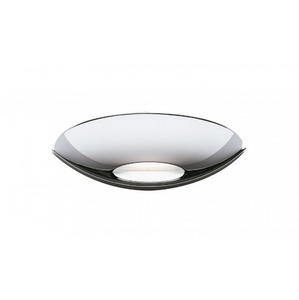 Chrome Halogen Wall Uplighter with Glass Insert - ID 306