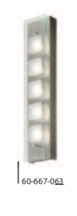 GROSSMANN Movie 5 lamp wall light - ID 8940