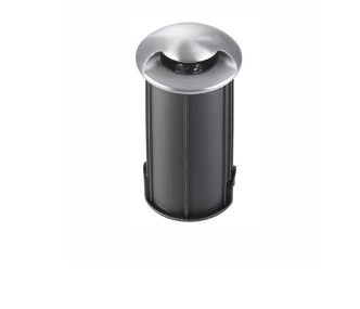 NL outdoor IP67 satin nickel recessed LED ground wash light - ID 9081