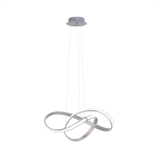 Curved Looped LED Pendant Light - ID 9363