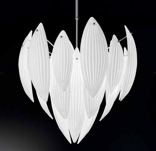 Paradise 62cm Murano Glass Chandelier - ID 6516