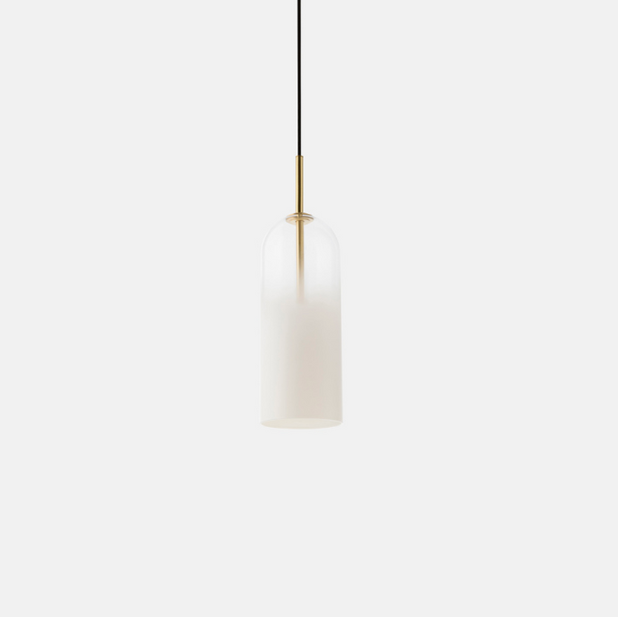 FOG Small Pendant in Frosted or Smoked Glass - ID 9939 ID 9940
