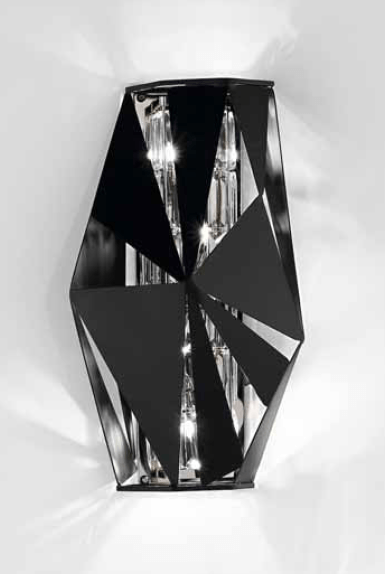 IDL Crystal Rock 4 Lamp Wall Light - London Lighting - 1