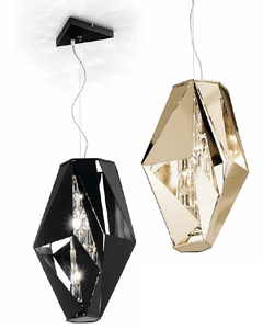 IDL Crystal Rock Suspension 3 Lamp - London Lighting - 2