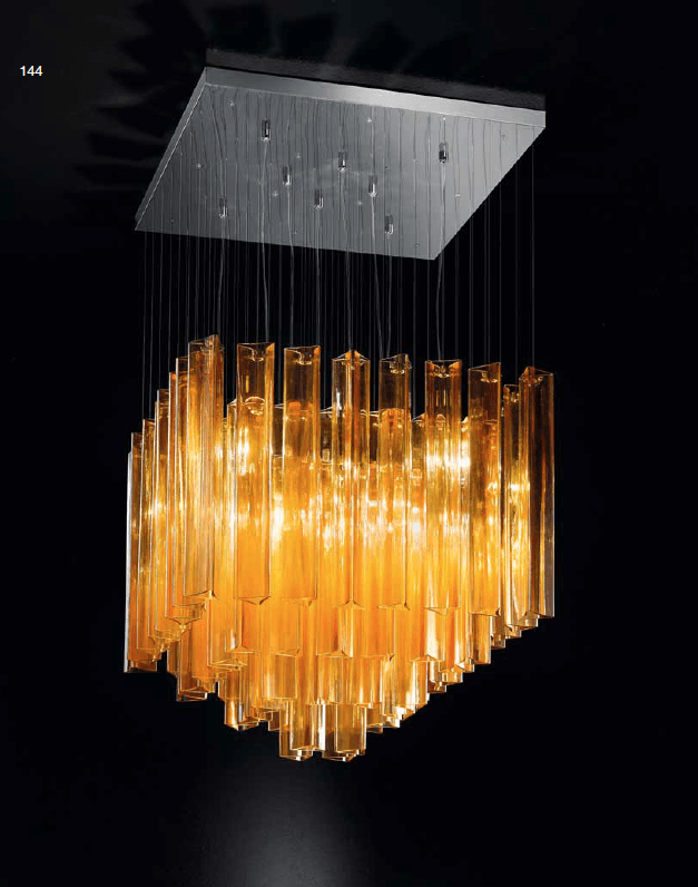 IDL Armonia 8 Lamp Ceiling Light - London Lighting - 1