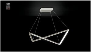 Amox Lox 88-768-072 Aluminium Suspended Light - London Lighting - 2