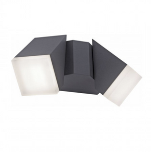 Adjustable Outdoor Wall Light In Anthracite - ID 9944