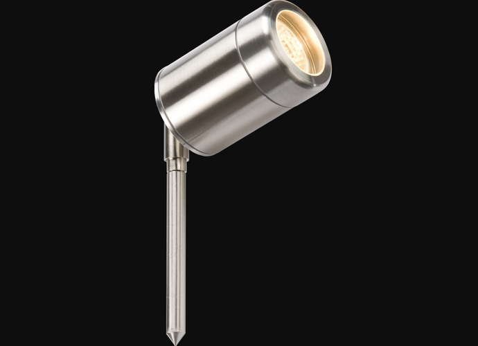 Stainless Steel IP65 GU10 Outdoor Spike Light - ID 10298