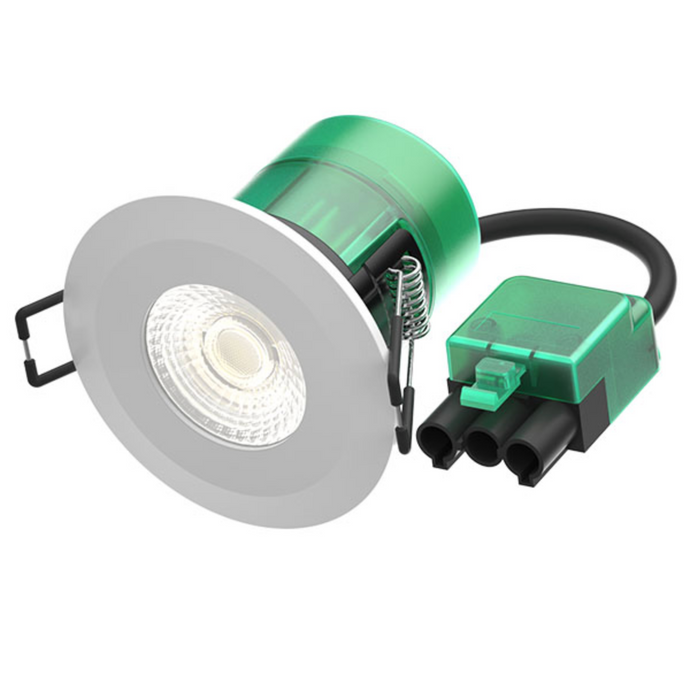 6watt LED Dimmable Integrated Fixed Downlight 3000 kelvin - ID 10402