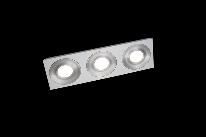 Grossmann COAX 3 Lamp Wall / Ceiling Light - Colour Options