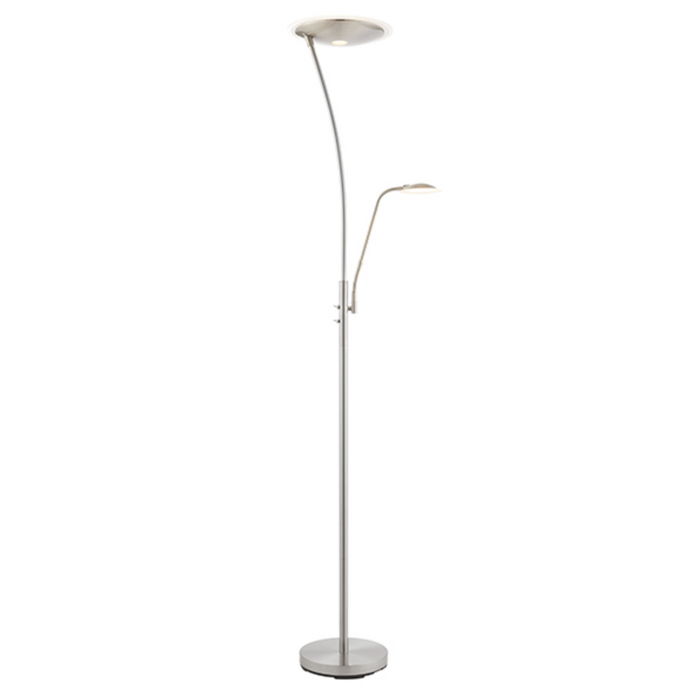 Satin Chrome Mother and Child Floor lamp - ID 10672