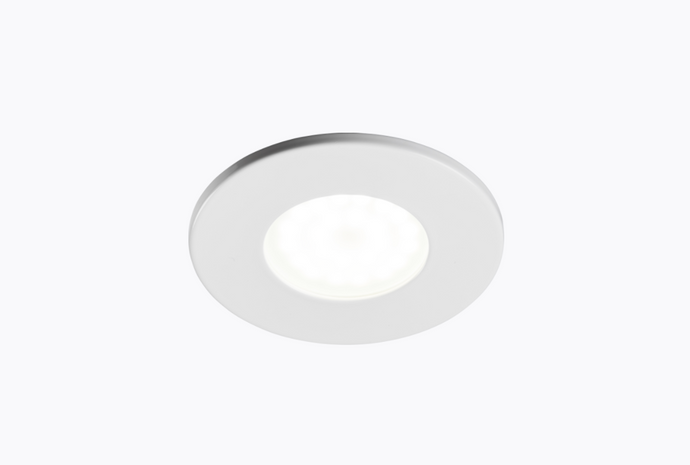 Fire Rated GU10 Downlight Fixed White  - ID 10917