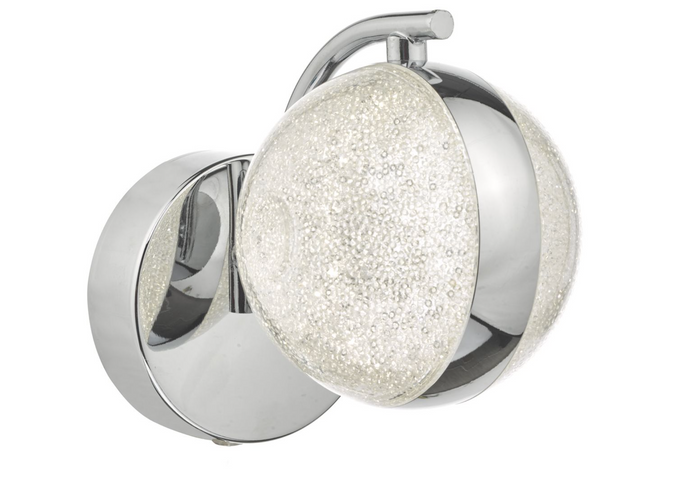 LEN NYMA Polished Chrome Wall Light - ID 10921