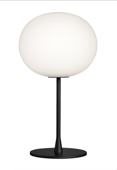 FLOS Glo-Ball T1 Table Lamp In Matt Black - ID 10929