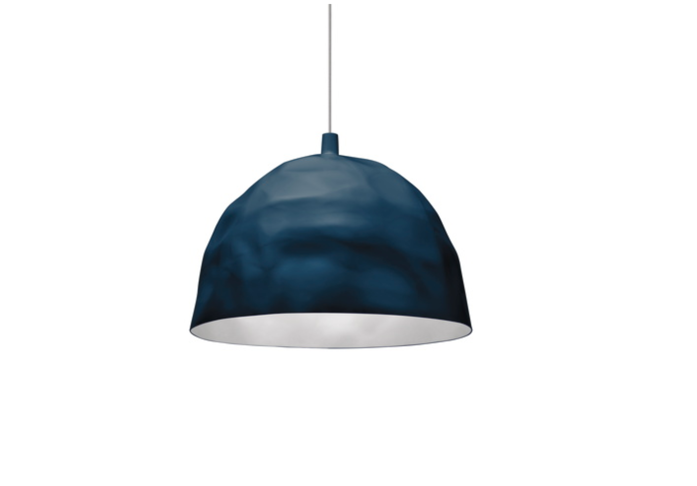 FOSCARINI BUMP Petrol Blue Suspension - ID 10960