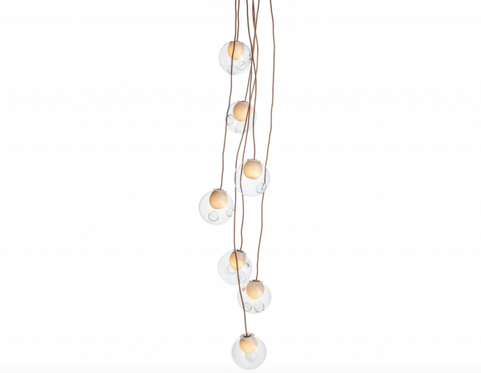 BOCCI 28.7c Bespoke Stairwell Cluster Pendant
