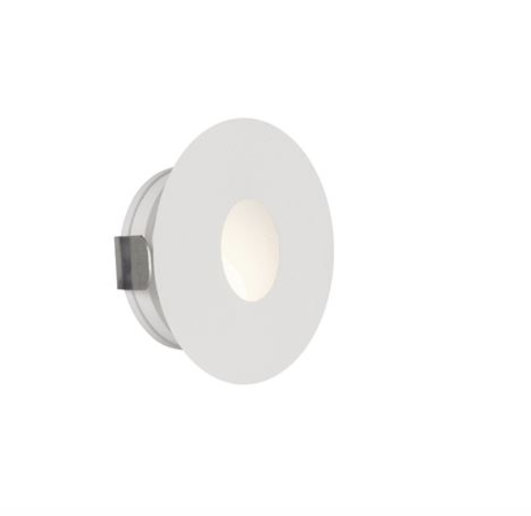 NL outdoor IP54 wall recessed white LED step light for remote driver
