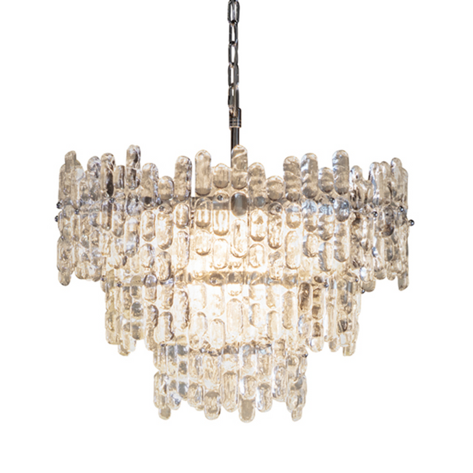 Ice 9 Arm Chandelier - ID 9639