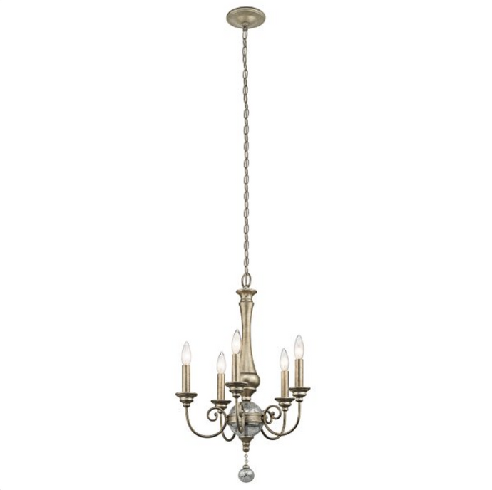 Beauvoir 5 Lamp Grand Mini Chandelier  - ID 9708