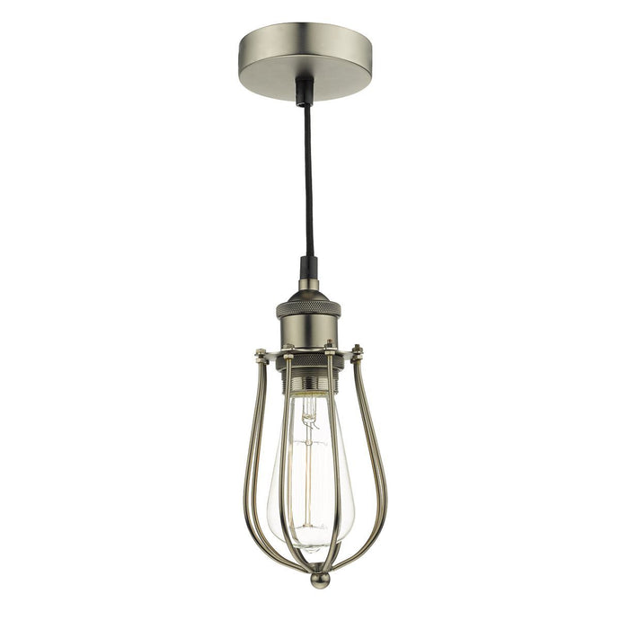 Northolt Industrial Pendant In Pewter- ID 8653
