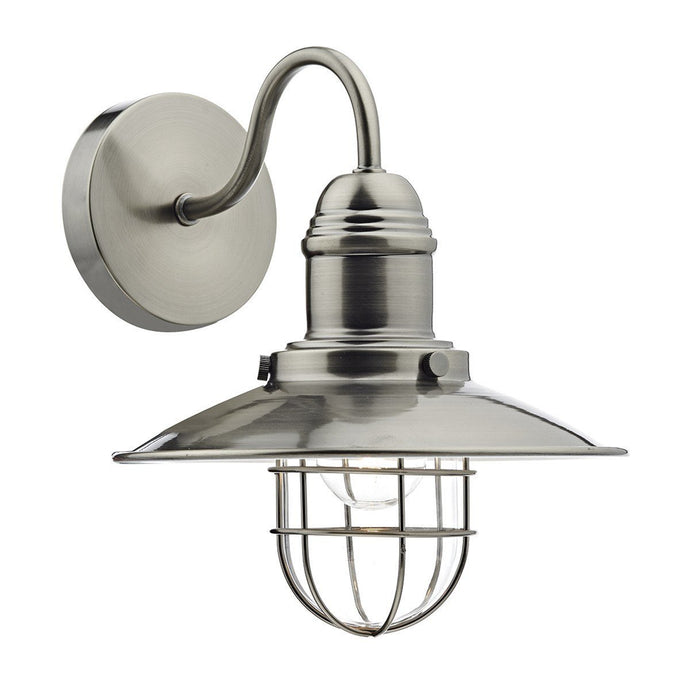 Terrace Antique Chrome Wall Bracket - London Lighting - 1