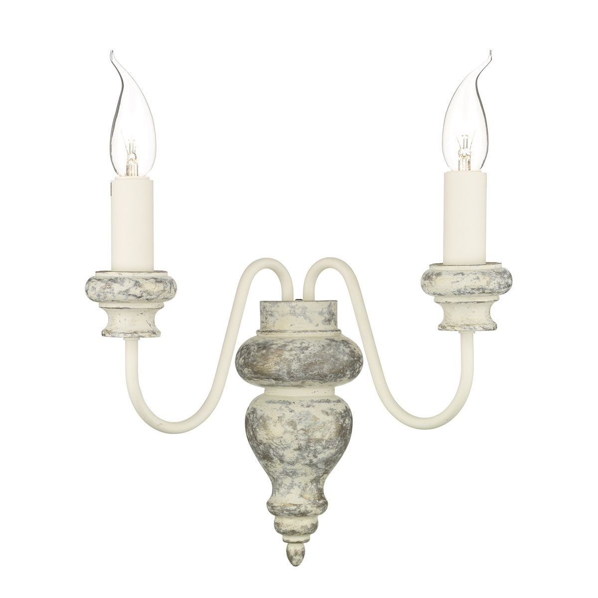 Verona Grey Double Wall Light - ID 8731