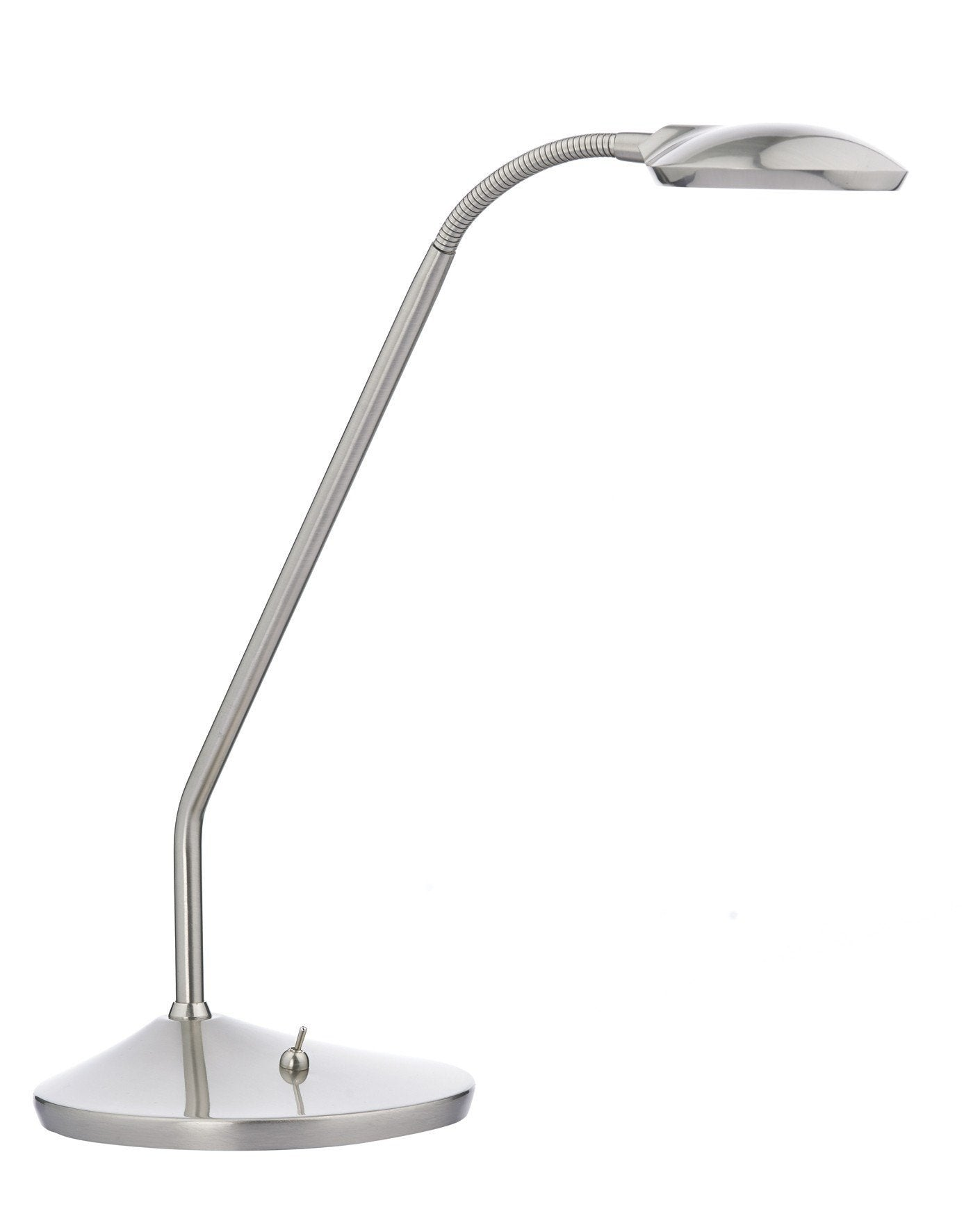 Wellington LED Desk Lamp in Satin Chrome - London Lighting - 1