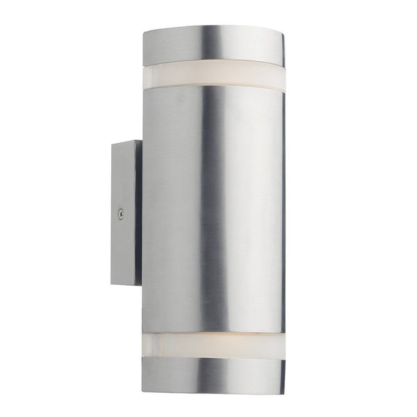 Wessex Stainless Steel 2 Lights Wall Bracket - London Lighting - 1