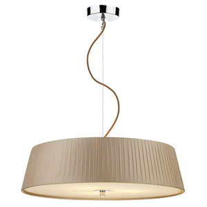 Wheel Taupe 3 Lights Pendant Light - London Lighting - 1