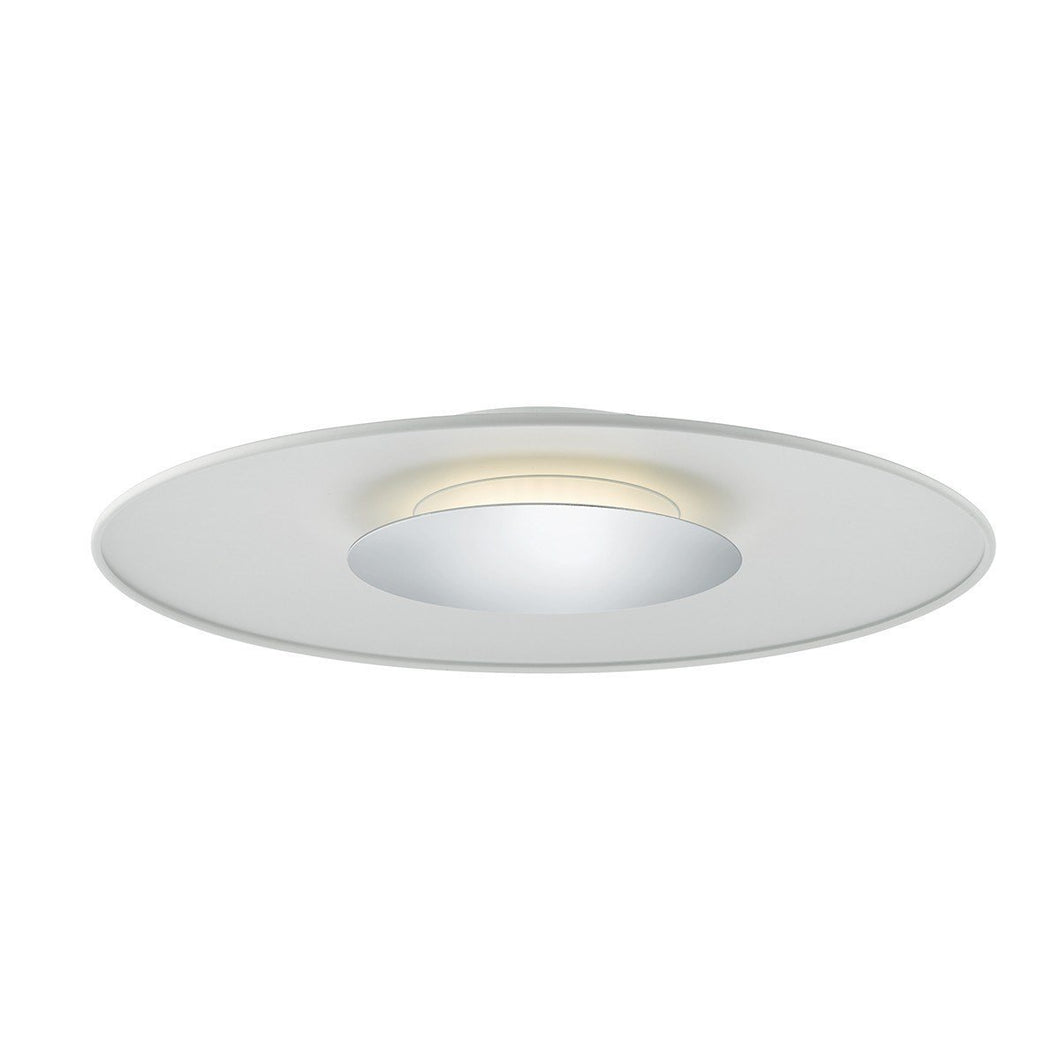 Worcester LED Large Ceiling Polished Chrome - London Lighting - 1