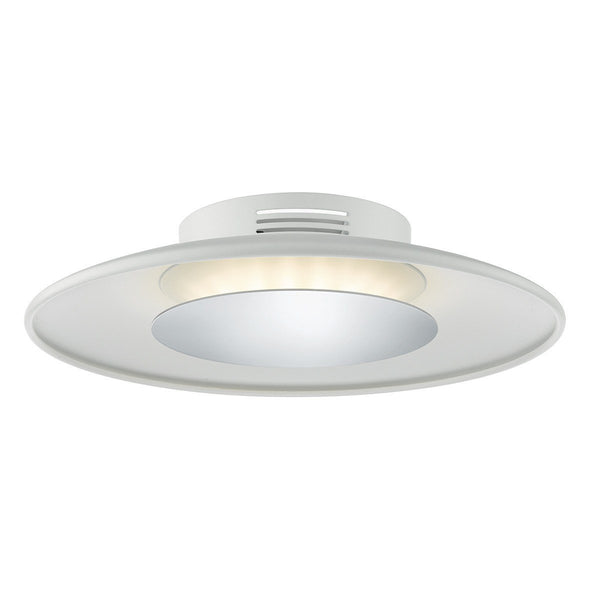 Worcester LED Small Ceiling Polished Chrome - London Lighting - 1