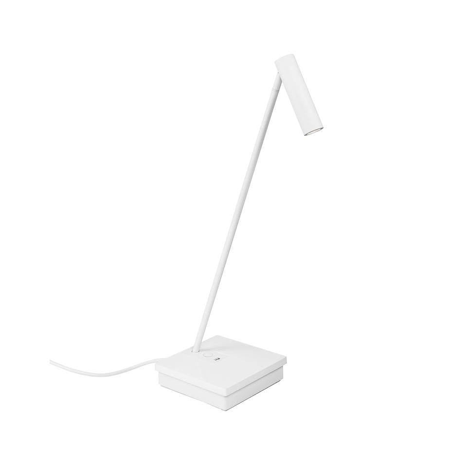ELA White Elegant Directional Table Light With USB Device Charge - ID 10740