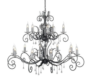 Amarilli 15 Arm Chandelier - London Lighting - 2