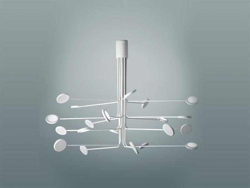 Icone Arbor 20 Arm Flush Ceiling Light - London Lighting - 1