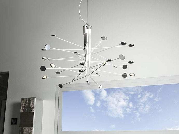 Icone Arbor 30 Arm Suspended Ceiling Light - London Lighting - 1