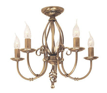 Artisan 5 Arm Chandelier - London Lighting - 2