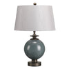 Balham Ceramic Table Lamp c/w Shade - ID 8002