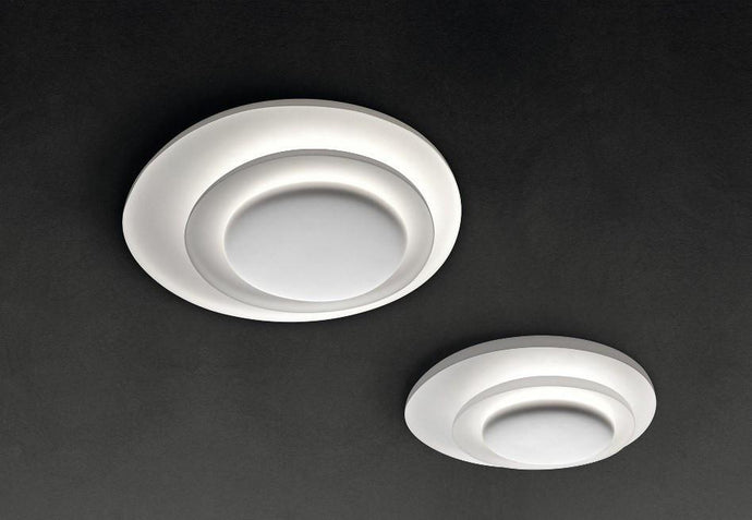 Foscarini Bahia White Wall/Ceiling Light - London Lighting - 1