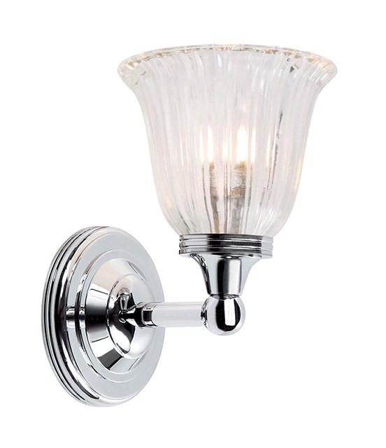 Austen1 Bathroom Wall Light in Polished Chrome - London Lighting - 1