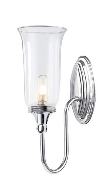 Blake2 Bathroom Wall Light in Polished Chrome - London Lighting - 1