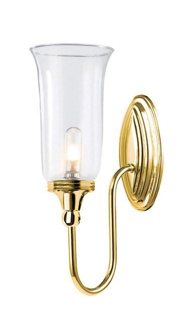 Blake2 Bathroom Wall Light in Polished Brass - London Lighting - 1