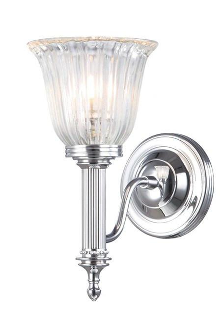 Bathroom Carroll1 Polished Chrome - London Lighting - 1
