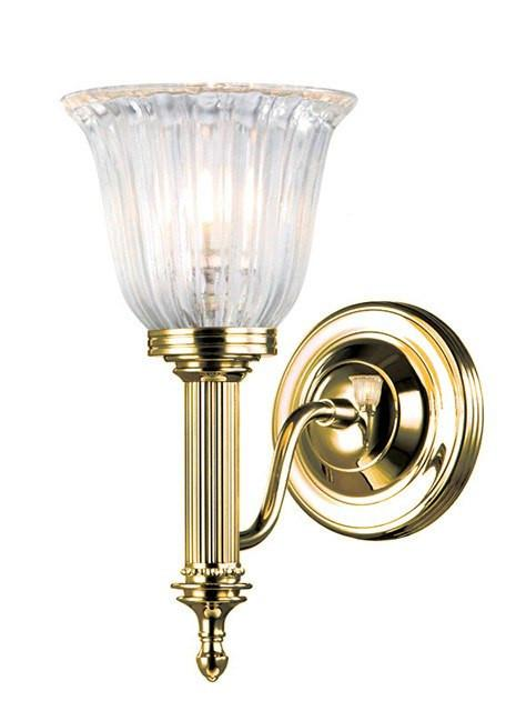 Bathroom Carroll1 Polished Brass - London Lighting - 1