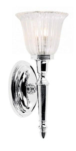 Bathroom Dryden1 Polished Chrome - London Lighting - 1