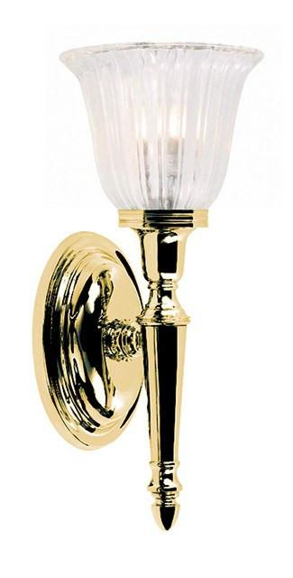Bathroom Dryden1 Polished Brass - London Lighting - 1