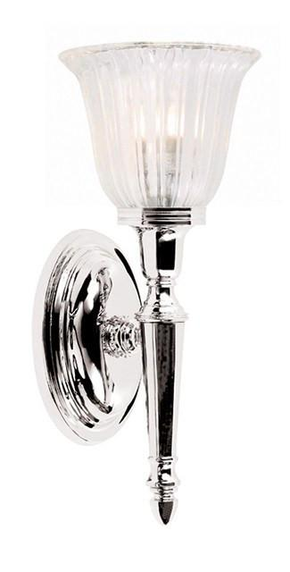 Bathroom Dryden1 Polished Nickel - London Lighting - 1