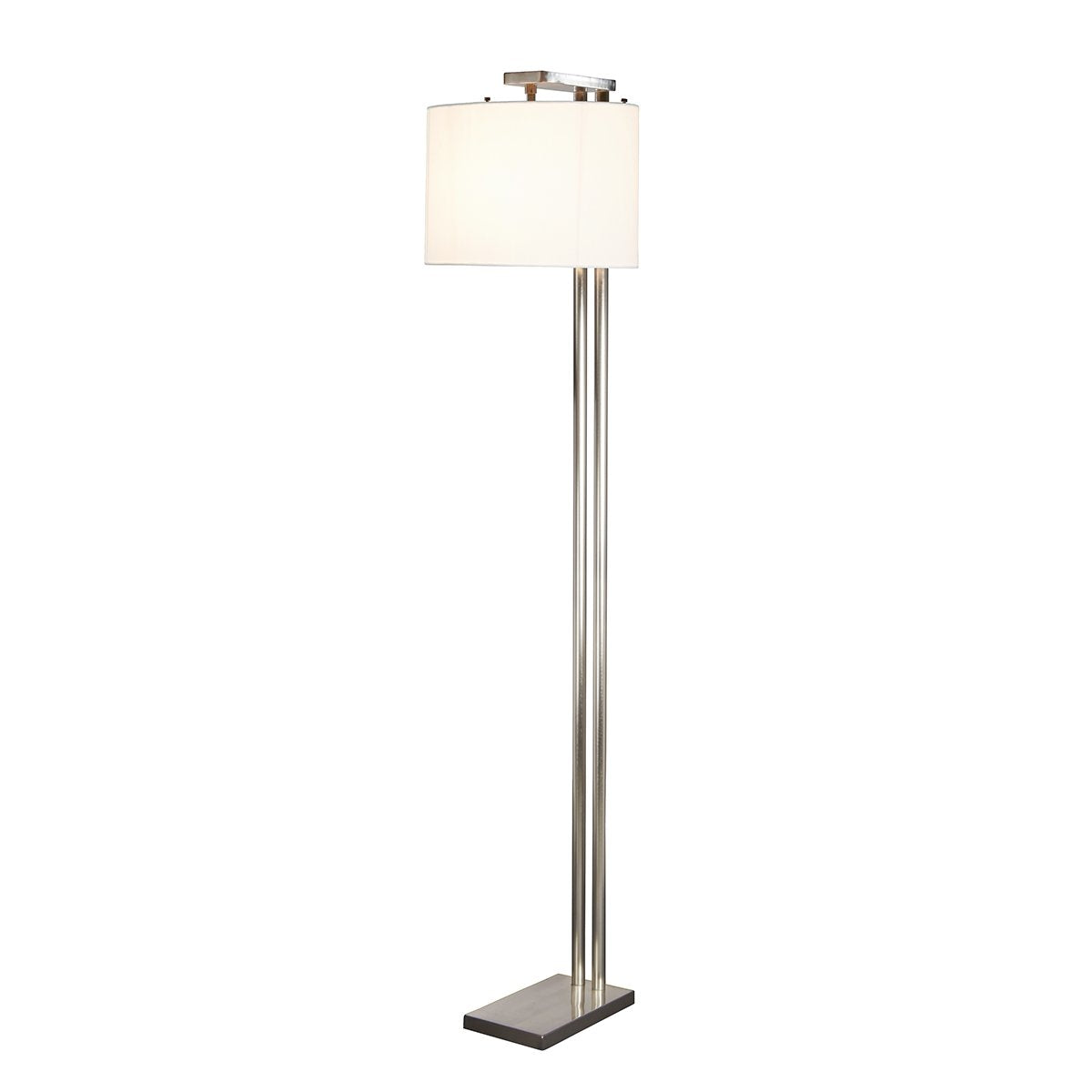Belmont Floor Lamp Brushed Nickel