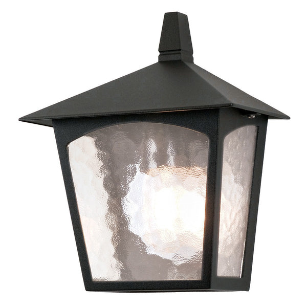 York Flush Lantern Black - London Lighting - 1
