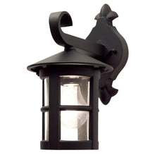 Hereford Wall Down Lantern Black - London Lighting - 1